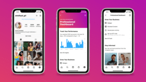 Instagram adds professional dashboard for businesses and creators