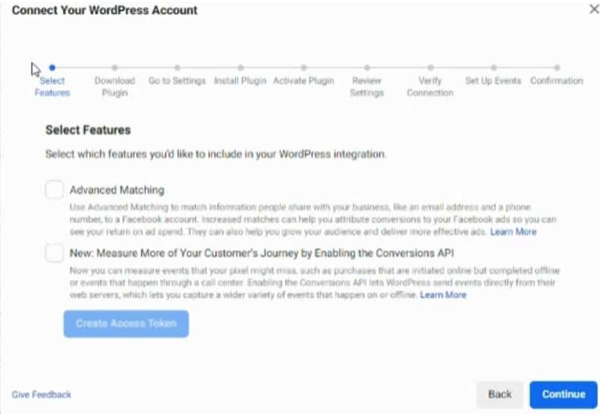 Connect Your WordPress Account To Facebook Conversion API CAPI